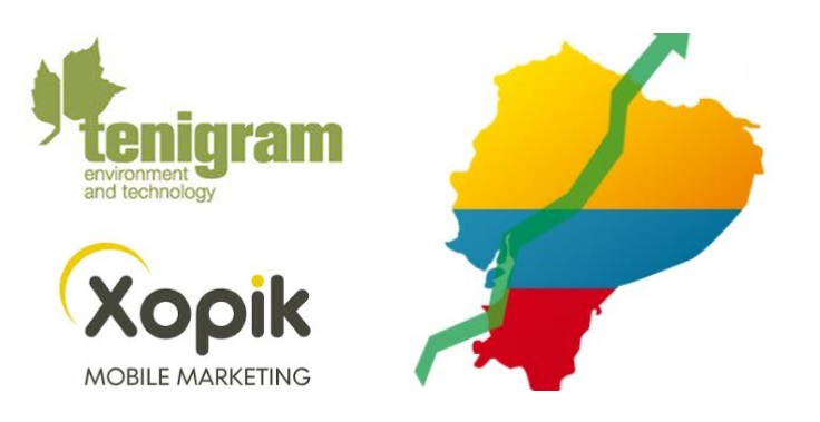 expansion de Xopik mobile marketing a ecuador